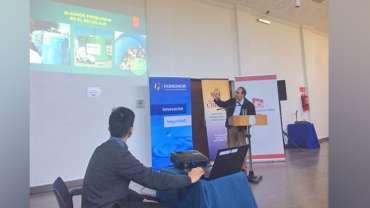 Cristoro participa en seminario que difunde la Ley Rep en la comunidad regional