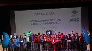 Ceremonia Premiación 11 Olimpiada Ambiental Escolar 2017, San Antonio