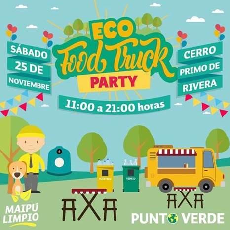 En Eco Food Truck Maipú, estuvo presente Cristoro Reciclaje de Vidrio, fomentando las prácticas ambientales