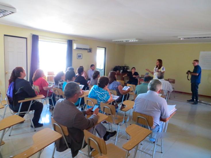 Reciclaje Cristoro en reunión con la Unión Comunal de Juntas de Vecinos de Colbún