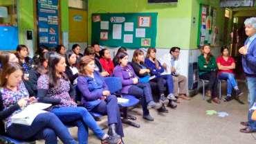 Visita al Centro de Salud Familiar en Comuna de Yerbas Buenas
