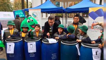 Día Internacional de reciclaje, lanzamiento recolección domiciliaria VIII región Cristoro