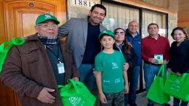Lanzamiento primer piloto de recolección selectiva de vidrio en Maipú