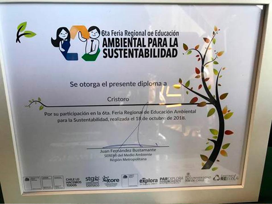 Participación en 6ta. Feria de Educación Ambiental para la Sustentabilidad