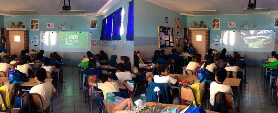 Charla de Reciclaje Centro Educacional niño Dios