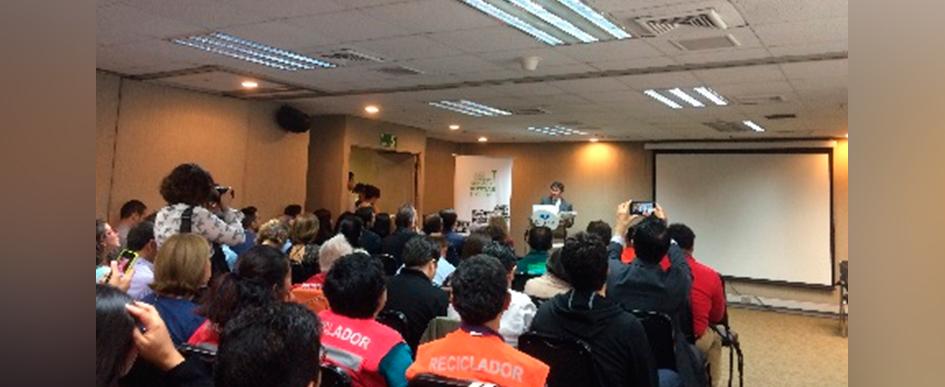 Seminario cierre del proyecto reciclaje inclusivo: Experiencias y aprendizajes, empresas, recicladores y gobierno