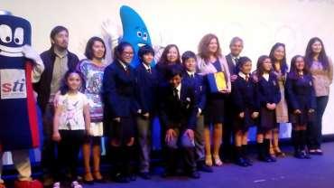 Cristoro Reciclaje participa en la Ceremonia de Cierra Olimpiadas Escolares, San Antonio 2016