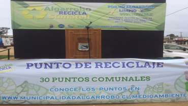 Cristoro Reciclaje participo en la 1era Expo Recicla de Algarrobo