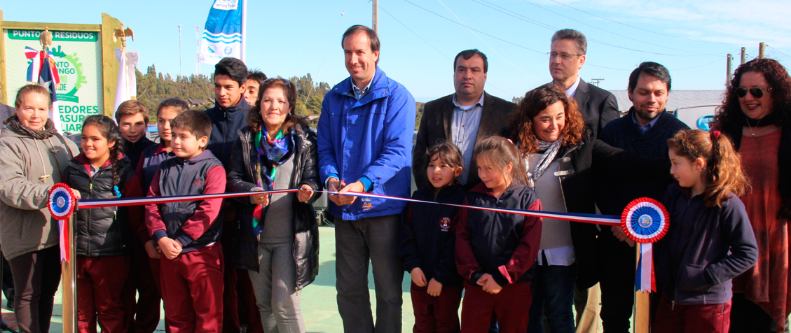 Santo Domingo inauguró nuevo punto de residuos y reciclaje