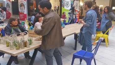 Cristoro Reciclaje se hace presente en actividad de medio ambiente Mall Plaza Vespucio